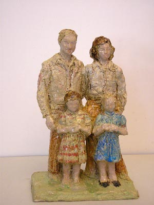 Hall Family Sculpture