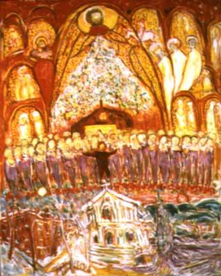 Art World New York The Mural In Art Emerging Art Series
