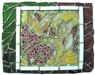 Flower Glass Mosaic