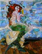 Mermaid Mosaic