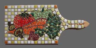 Vegetable Board Mosaic