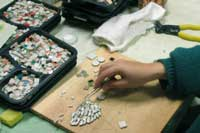 Mosaic in Progress