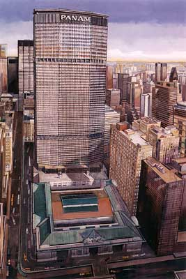 David Pena New York City Artist Grand Central Station The