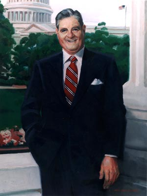David Pena Official Portrait Senators Strom Thurmond