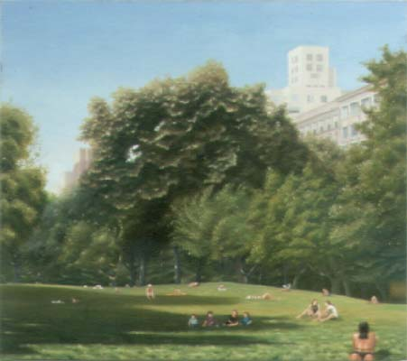 The Quiet Zone - in Central Park - near the Metropolitan Museum of Art