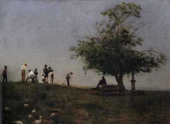 Mending the Thomas Eakins Paintings