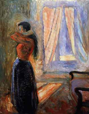 eduard munch and his artwork His painting the scream along with three other paintings he created were recently stolen  in the early 1800's, edvard munch became influenced by two older.